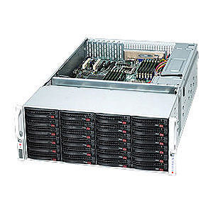 Supermicro CSE-847A-R1400LPB SuperChassis SC847A-R1400LPB 4U Rackmount Enclosure