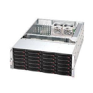 Supermicro CSE-846TQ-R1200B SuperChassis SC846TQ-R1200B Rackmount Enclosure - 4U - 24 Bays - 1200W