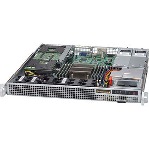 Supermicro CSE-514-R400W SuperChassis 514-R400W (No Paint) - Rack-mountable - 1U Server Case