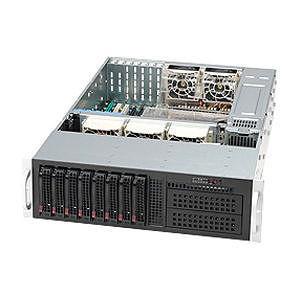 Supermicro CSE-835TQ-R920B SuperChassis SC835TQ-R920B 3U Enclosure - Rack-mountable - Black