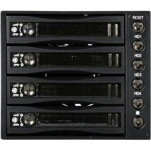 iStarUSA BPU-340SATA-BLACK Drive Bay Adapter Internal - Black