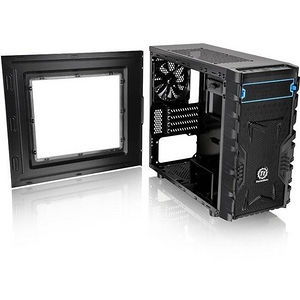 Thermaltake CA-1D3-00S1NN-00 Versa H13 M-ATX Gaming Chassis - Micro Tower - Black