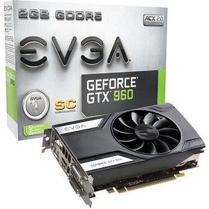 EVGA 02G-P4-2961-KR GeForce GTX 960 Graphic Card - 1.13 GHz Core - 2 GB GDDR5 - Dual Slot