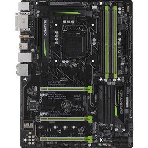 GIGABYTE GA-GAMING B8 Ultra Durable Desktop Motherboard - Intel Chipset - Socket H4 LGA-1151