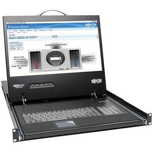 Tripp Lite B070-016-19-IP2 16-Port 1U Rack Console IP KVM Switch 2+1 Users w/ 19 in. Screen