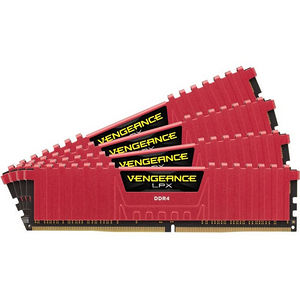Corsair CMK64GX4M4B3333C16R 64GB (4 x 16 GB) Vengeance LPX DDR4 SDRAM Memory Module - Unbuffered