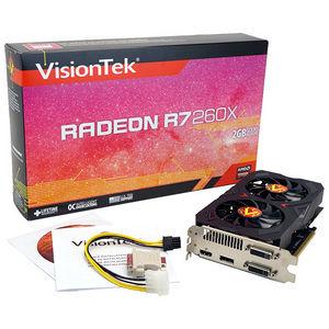 VisionTek 900650 Radeon R7 260X 2GB GDDR5 PCIE