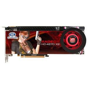 Sapphire 100251SR Radeon HD 4870 X2 Graphics Card