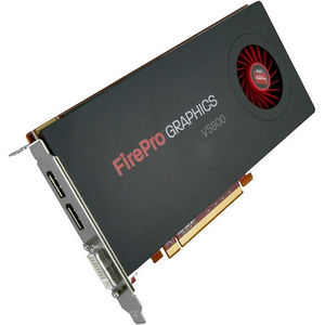 AMD 100-505843 FirePro V5900 Graphic Card - 600 MHz Core - 2 GB GDDR5 - PCI-E 2.1 x16 - Half-length