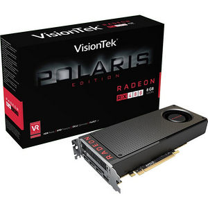 VisionTek 900888 Radeon RX 480 Graphic Card - 1.12 GHz Core - 8 GB GDDR5
