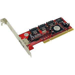 Addonics ADSA3R5-E 4 Port Serial ATA RAID Controller