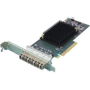 ATTO CTFC-164P-000 Celerity Quad Fibre Channel 16 Gb Gen 6 to x8 PCIe 3.0, LC SFP+ included