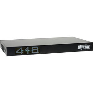 Tripp Lite B072-016-IP4 16-Port Cat5 IP KVM Switch 1 Local 4 Remote User 1URM Rackmount