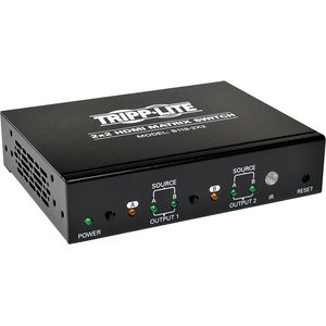 Tripp Lite B119-2X2 2x2 HDMI Matrix Switch Video & Audio 1920x1200 at 60Hz / 1080p