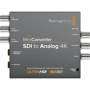 Blackmagic Design CONVMASA4K Mini Converter SDI to Analog 4K
