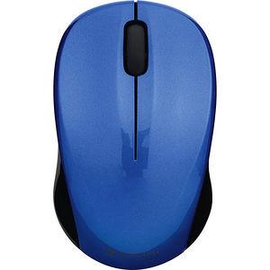 Verbatim 99770 Silent Wireless Blue LED Mouse - Blue