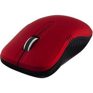 Verbatim 99767 Wireless Notebook Optical Mouse, Commuter Series - Matte Red