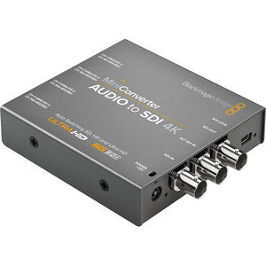 Blackmagic Design CONVMCAUDS4K Mini Converter Audio to SDI 4K