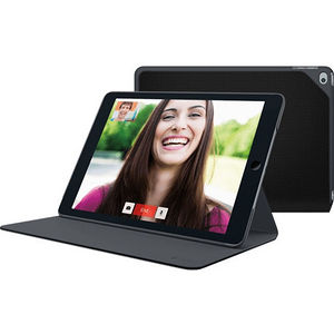 Logitech 939-001091 Hinge Carrying Case (Portfolio) iPad Air 2 - Mars Red Orange