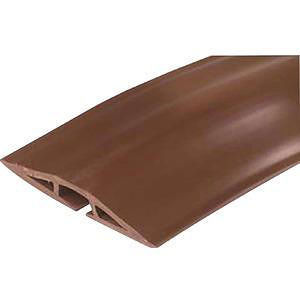 C2G 16329 5ft Wiremold Corduct Overfloor Cord Protector - Brown