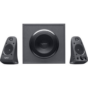 Logitech 980-001258 Z625 2.1 Speaker System - 200 W RMS - Black