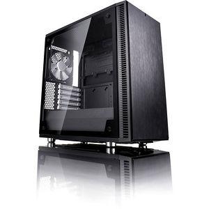 Fractal Design FD-CA-DEF-C-BK-TG Define C TG Computer Case with Windowed Side Panel - Mid-tower