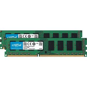 Crucial CT2K51264BD160B 8GB (2 x 4 GB) DDR3L SDRAM Memory Module