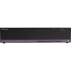 SmartAVI DVN-4DUO-DLS 4-Port Dual-Head, Dual-Link DVI-D KVM Switch