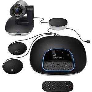 Logitech 960-001060 GROUP Video Conferencing System Plus Expansion Mics