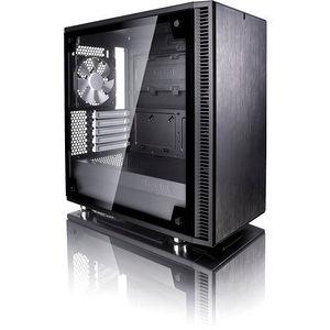 Fractal Design FD-CA-DEF-MINI-C-BK-TG Define Mini C TG Computer Case with Windowed Side Panel
