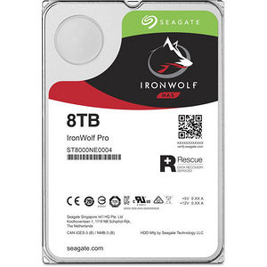 "Seagate ST8000NE0004 IronWolf Pro 8 TB 3.5"" Internal Hard Drive - SATA"