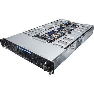 GIGABYTE G250-G52 2U Rack-mountable Barebone - Intel C612 Chipset - Socket LGA 2011-v3 - 2 x CPU