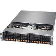 Supermicro AS -2123BT-HNR A+ Server Barebone System - 2U - AMD Socket SP3 - 2 x CPU Support