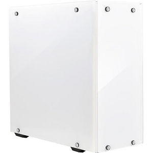 EVGA 156-F1-2022-KR DG-75 Alpine White Mid-Tower, 2 Sides of Tempered Glass, Gaming Case