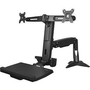 StarTech ARMSTSCP2 Desk Mount for Mouse, Keyboard, Monitor - TAA Compliant