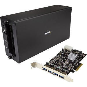 StarTech BNDTBUSB3142 Thunderbolt 3 to PCIe USB 3.1 Adapter - PCIe Expansion - Chassis + Card