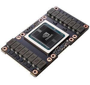 NVIDIA 900-2G503-0010-000 Tesla V100 SXM2 Graphic Card - 32 GB HBM2 - NVLink - Passive Cooling