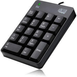 Adesso AKB-601UB USB Spill Resistant 18-Key Numeric Keypad