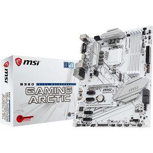 MSI B360GARCTIC B360 GAMING ARCTIC Desktop Motherboard - Intel Chipset - Socket H4 LGA-1151