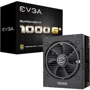 EVGA 120-GP-1000-X1 SuperNOVA 1000 G1+ 1000W 80 Plus Gold Modular Power Supply