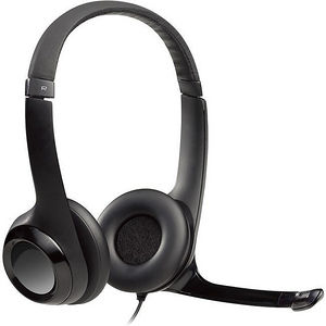 Logitech 981-000731 Wired USB Headset With Microphone