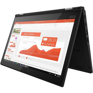 "Lenovo 20M7002NUS ThinkPad Yoga L380 13.3"" Touchscreen LCD 2 in 1 Notebook - Core i3-8130U 2.20 GHz"