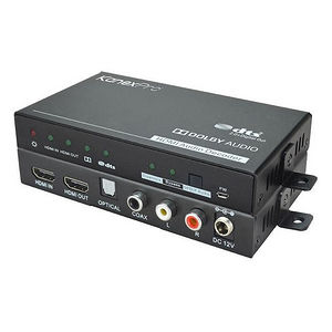 KanexPro CON-AUDXTRACT 4K/60Hz HDMI Audio Decoder w/DOLBY