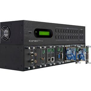 KanexPro FLEX-MMX12 Flexible Modular Matrix with 12 I/O slots