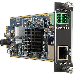 KanexPro FLEX-IN-HDBT4K Flex-Seamless HDBaseT input card with PoH, seamless 4K