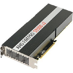AMD 100-505937 FirePro S9300 Graphic Card - 2 GPUs - 8 GB HBM - Full-length/Full-height - Dual Slot