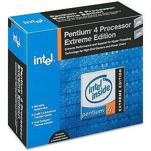 Intel BX80532PH3460FS Pentium 4 Extreme Edition 3.46GHz Processor