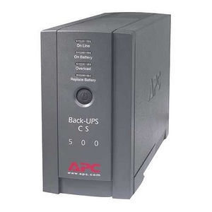 APC BK500BLK APC Back-UPS CS 500VA Tower UPS