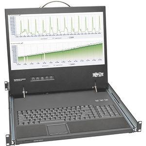 "Tripp Lite B021-000-19-SH Rack Console Short-Depth KVM Cable Kit w/ 19"" LCD VGA 1U TAA"