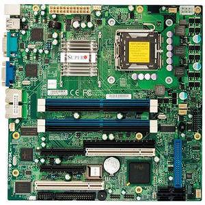 Supermicro MBD-PDSML-LN2-O Desktop Motherboard - Intel E7230 Chipset - Socket T LGA-775 - Retail